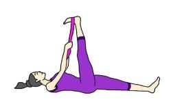 Supta_Padangusthasana_Reclining_Hand_to_Big_Toe_Pose_Yoga_Asana